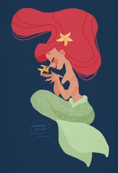 Ariel by snowwhties.tumblr.com