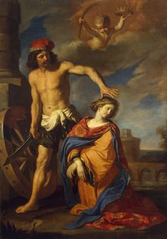 Guercino, Martyrdom of St. Catherine, 1653, St. Petersburg.