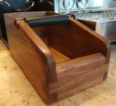 knockbox for espresso machines & coffee grinders