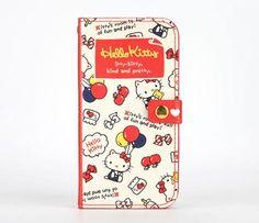 Hello Kitty iPhone 5 Flip Case: Balloons