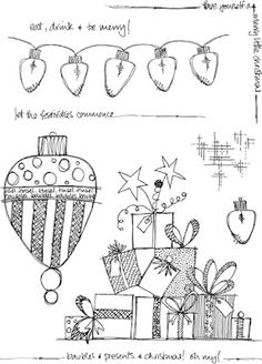 Jo Firth-Young: Christmas! JOFY stylee...