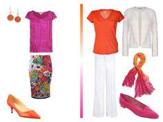 Hot Pink & Orange: A Packing Capsule based on Hermes Fleuri de Provence | The Vivienne Files