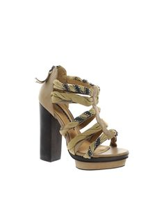 Studio TMLS Bjorn Leather Twisted Strap Sandal Walk This Way, Strap Sandals, Me Too Shoes, Style Me, Addiction, Kicks, Walking, Style Inspiration, Shoe Bag