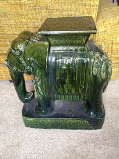 Elephant Garden Stool Gardens Ceramics and Plant stands