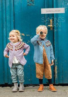 Hefter - Barn - Sandnes Garn Cute Dresses, Short Dresses, Pattern Design, My Design, Icon Collection, Apron Dress, Happy Colors, Pattern Books, Beautiful Patterns