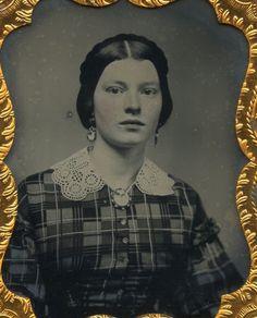 Civil War Soldier's Girlfriend Girl Next Door Beauty | eBay