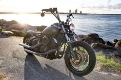metric bobber project yamaha v star 1100 by Goodtimes Customs Garage