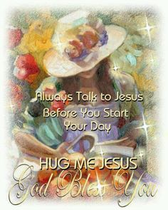 I THANK JESUS EVERY MORNING FOR WAKING ME UP AND ALLOWING ME TO SEE ANOTHER DAY!!