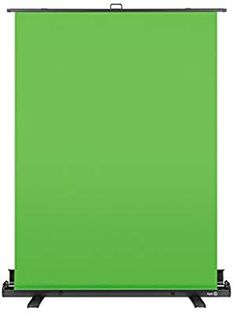 Elgato Green Screen - Collapsible chroma key panel for background removal with auto-locking frame, wrinkle-resistant chroma-green fabric, aluminum hard case, ultra-quick setup and breakdown Electronics Storage, Thing 1, Chroma Key, Green Fabric, Computers, How To Remove, Amazon, Frame, Accessories