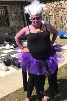 Me as Ursula for dressing up day on Abel17