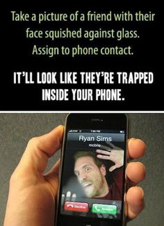 >.> we're so doing this, guys. I don't care how dorky it is, when I get a new phone, we're doing this