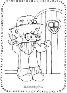 USED COLORING BOOK~Strawberry Shortcake and Her Friends - Bonnie Jones - Picasa Web Albums