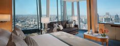 London Hotel Grand Premier Room | Shangri-La Hotel At The Shard. To be opened in May 2014.