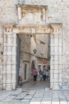 The South Gate, Trogir, Croatia