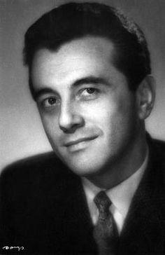Andrzej Łapicki, March 1957, Warszawa | Photographer Benedykt Jerzy Dorys (Rotenberg)