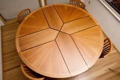 Fine Woodworking Table - Elegant Woodworking Table - Fine Furniture #woodworking