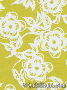Ty Pennington Impressions TY07-Chartreuse Fabric 9.