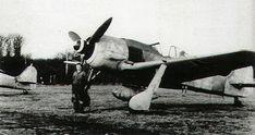 Asisbiz Focke Wulf Fw 190A7 2.JG11 Black 1 WNr 643701 Rotenburg Germany 1944-02 Ww2 Aircraft, Fighter Aircraft, Military Aircraft, Aalborg, Stavanger, Oldenburg, Luftwaffe, Focke Wulf 190, Radial Engine