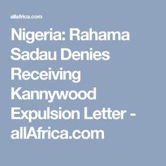 Nigeria: Rahama Sadau Denies Receiving Kannywood Expulsion Letter - allAfrica.com