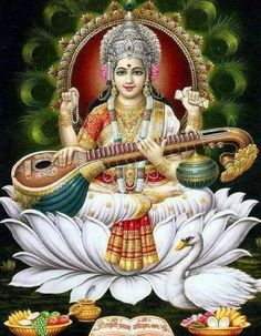 Goddess of learning.