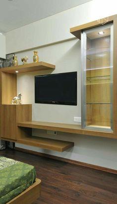 Lcd Panel Design, Tv Wall Design, Wall Unit Decor, Framed Tv, Modern Interior Design, Door Design Modern, Tv Design, Living Room Tv Unit Designs, Wall Tv Unit Design