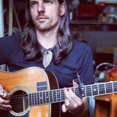 Seth, his hair, and guitar.  Wow.
