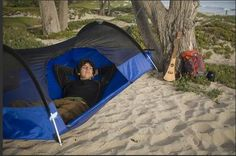 Tent hammock = AWESOME