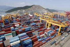 Hanjin's container terminal in Busan in 2013. Hanjin is the world's ninth-largest container shipping company...Hanjin Shipping Nears Bankruptcy After Creditors End Support.  SEOUL—Creditors of one of the world's major shipping companies, South Korea's Hanjin Shipping Co., said they would no longer give it financial support, pushing the company close to bankruptcy.