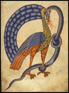 Bird killing serpent a by peacay, via Flickr