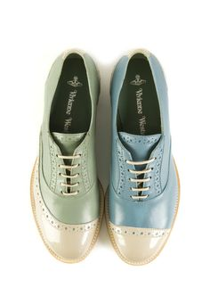 Vivienne Westwood Pirate Patchwork Brogues