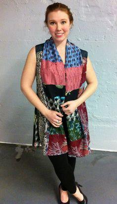Patchwork summer shawl by JesusSpeak on Etsy, $65.00