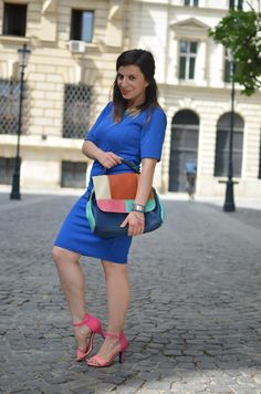La Bohème: Don't be afraid to rock the colors! Meli Melo, Dont Be Afraid, Style Inspiration, Magpie, Fashion Bloggers, My Style, Colors, How To Wear, Clothes