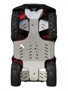 Skid Plate Full Set Aluminium Kawasaki Kvf 650 750 Kawasaki Plates For Sale Yamaha Atv