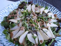 autumn salad pears gorgonzola and candied walnuts more autumn salad ...