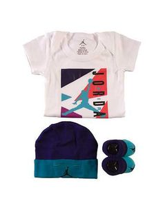 #FashionVault #jordan #Boys #Accessories - Check this : JORDAN BOYS Multi-Color Accessories / Onesies 0-6 for $22 USD