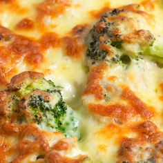 "Keto Recipe - Broccoli Chicken & Cheese Casserole ""Super Cheesy, Tasty & Nutritious"" - Best foods for weight loss Low Carb Recipes, Diet Recipes, Cooking Recipes, Healthy Recipes, Recipes Dinner, Chili Recipes, Easy Recipes, Soup Recipes, Damn Delicious Recipes"