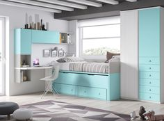 Outstanding images of modern bedroom sets exclusive on dandj home decor Kids Bedroom Designs, Kids Bedroom Sets, Teen Girl Bedrooms, Small Bedrooms, Modern Kids Furniture, Kids Bedroom Furniture, Bedroom Decor, Furniture Dolly, Contemporary Furniture