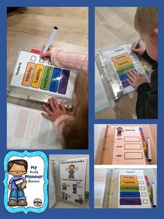 In this interactive Binder your students will find useful strategies available to aid them plan their day ahead and keep them focused.