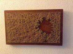 Quadro decorativo Madeira de macacauba