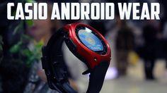 Casio con Android Wear, primeras impresiones CES 2016 | Casio Android Wear, CES 2016 First Impressions | #Wearables #Casio #Android #Smartwatch