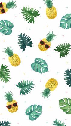 New Wallpaper Iphone Pineapple Pattern Art Prints 15 Ideas