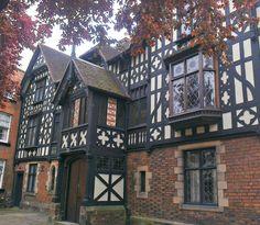 Beautiful buildings. Shrewsbury, Shropshire, England, UK. - birthplace of my paternal great great grandfather, John Kynaston, in 1856.