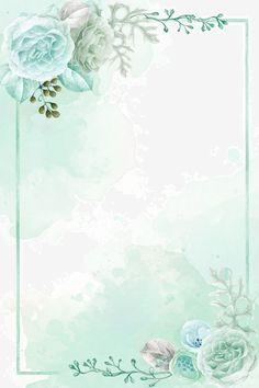 Light Green Hand Painted Spring On New Floral Wireframe Background Watercolor Flower Background, Flower Background Wallpaper, Flower Phone Wallpaper, Framed Wallpaper, Flower Backgrounds, Wallpaper Backgrounds, Spring Backgrounds, Floral Wallpapers, New Background Images