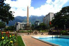 El Obelisco de la Plaza Altamira de Chacao, Caracas-Venezuela.