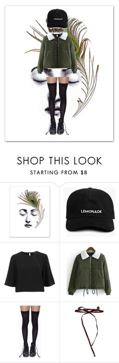 """""""Peacock"""" by supernatural-699 ❤ liked on Polyvore featuring The Fifth Label, Leg Avenue, Johnny Loves Rosie and puffers"""