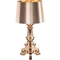 Kartell Bourgie lamp / Metallized version Copper