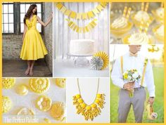 We couldn't be more excited about these hot new 2013 wedding color trends.  What do you think about lemon zest?