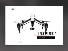 Playing with some initial interactions for browsing through different DJI products. Made with Principle Check out our new website at handsome.is