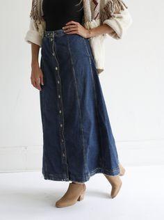 Rachel Comey Gore Skirt - Indigo