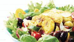 Lämmin broileri-pastasalaatti - K-ruoka Tonka Bohne, Vegetarian Recipes, Healthy Recipes, Western Food, Indonesian Food, Gnocchi, Chinese Food, Fruit Salad, Potato Salad